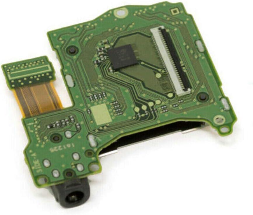 VAILANG Professional Cartucho de Juego Ranura para Tarjeta Lector de Repuesto Consola Auriculares Jack Puerto Enchufe para Piezas de reparación Accesorios