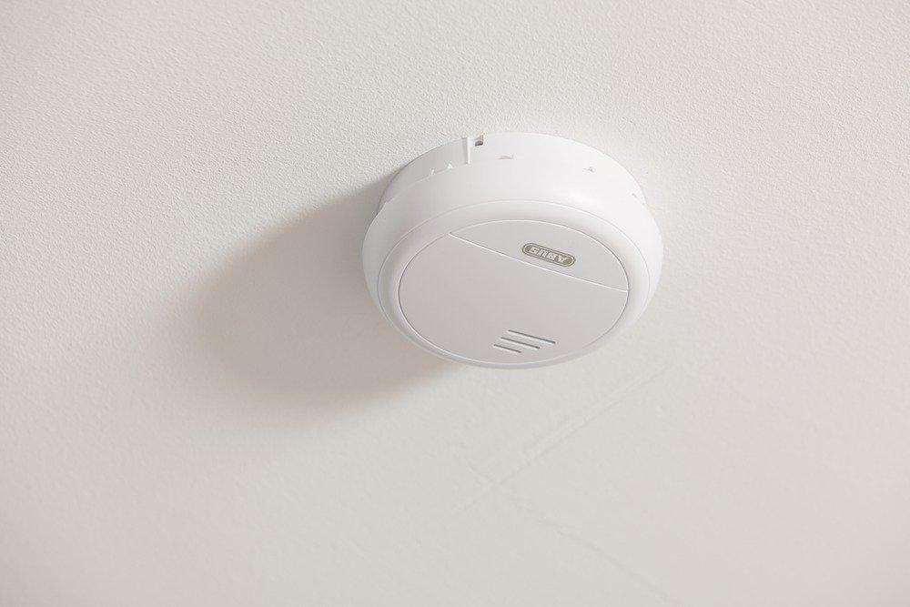 Abus 558115 RM40 Li - Detector de humo (inalámbrico) [Importado de Alemania]: Amazon.es: Bricolaje y herramientas