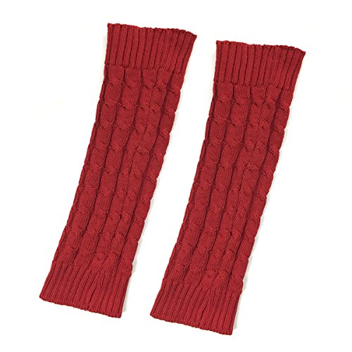 Bowbear Little Girls Cable Knit Leg Warmers, ()
