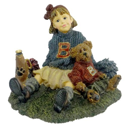 Boyds Bears Resin Tami With Doug Half Time Cheerleader Dollstone 3E - Resin 3.25 IN