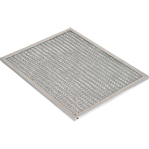 10 x 12-1/2 x 3/8'' Aluminum Range Hood Filter