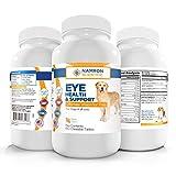Namron Scientific Eye Care Dogs, Multivitamin Eye Health Support Lutein, Zeaxanthin, Omega-3 Fatty Acids 12 Natural Antioxidants Dogs