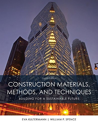 Construction Materials - Construction Materials, Methods and Techniques (MindTap Course List)