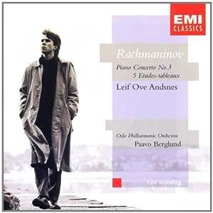 Leif Ove Andsnes ~ Rachmaninov: Piano Concerto No. 3/5 Etudes-tableaux