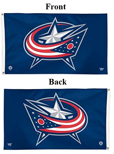 WinCraft NHL Columbus Blue Jackets Deluxe Flag, 3' x 5'