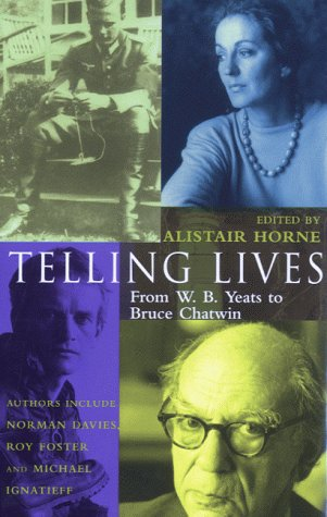 Telling Lives: From W.B. Yeats to Bruce - Store Wb Nyc