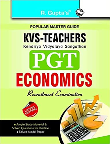KVS PGT Economics Self Prepration Guide