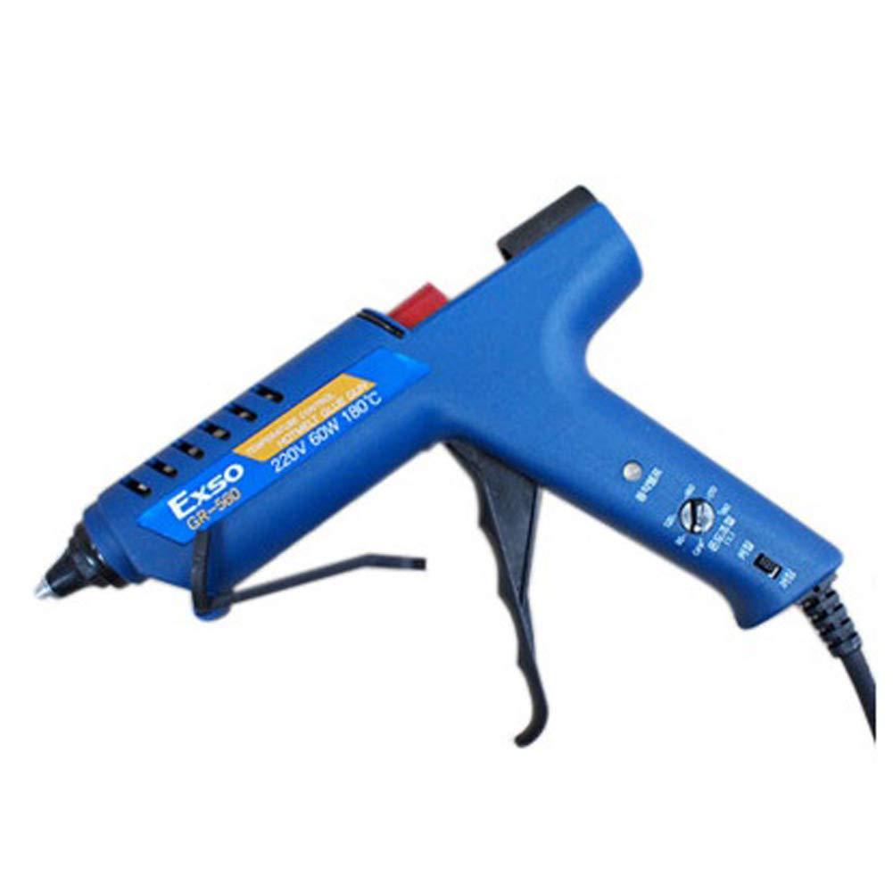 EXSO Glue Gun Hot Melt Guns Temperature Controllable GR-560 60W by [EXSO OEM]