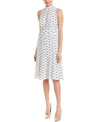 da637abc460 Donna Morgan Women s Printed Mockneck Dress at Amazon Women s Clothing  store