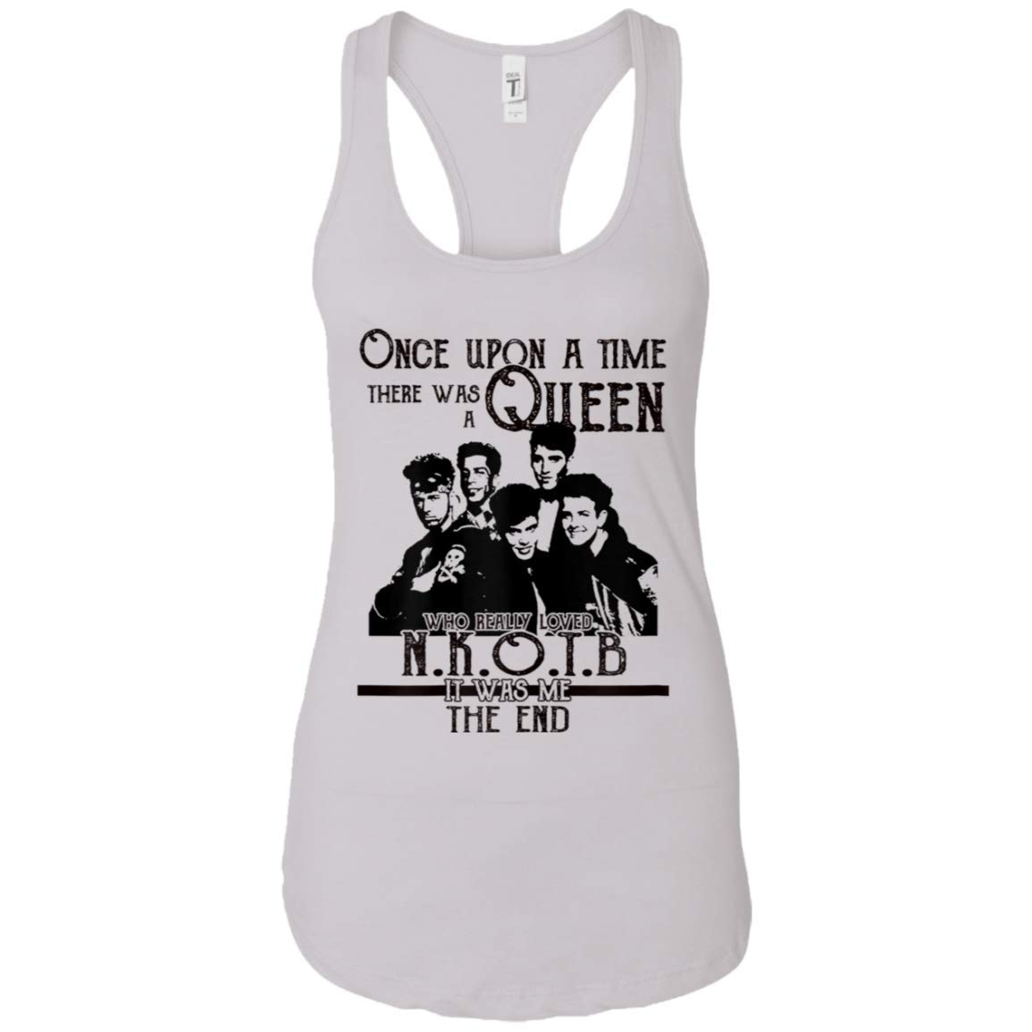 Vintage New On Block Shirt Once Upon A Time Racerback Tank Top For 2175