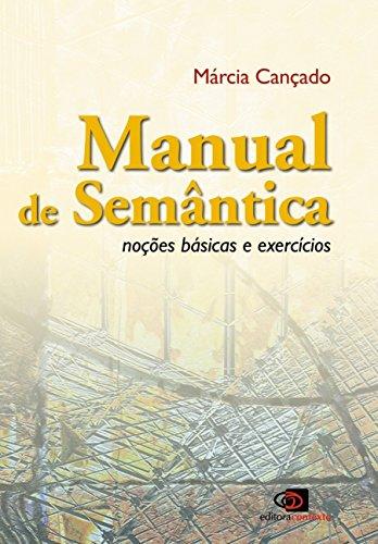Manual de Semântica. Noções Básicas e Exercícios