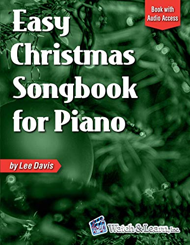 - Easy Christmas Songbook for Piano: Book with Online Audio Access