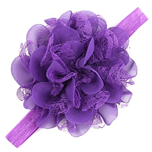 Baby Girls Hair Band,Canserin Infant Cute HeadBand (Deep Purple) (Costumes With Purple Hair)