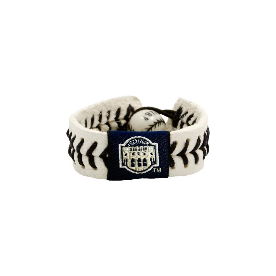 MLB New York Yankees Yankee Stadium Authentic Baseball Bracelet
