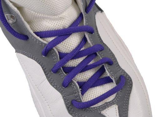 Oval Shoelaces Purple 45
