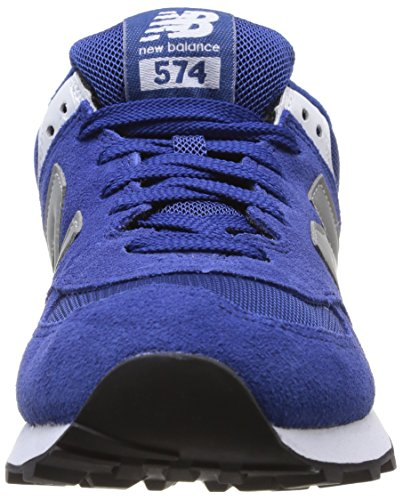Silver mode Balance D Ml574 New Baskets Blue Sgb homme Bleu wzT7Z