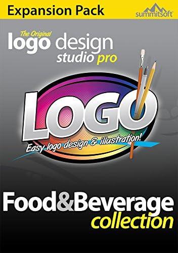 Amazon Com Logo Design Studio Pro Food Beverage Logo Templates Expansion Pack For Logo Design Studio Pro Vector Download Software