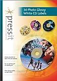 Press IT 30 étiquettes CD qualité photo