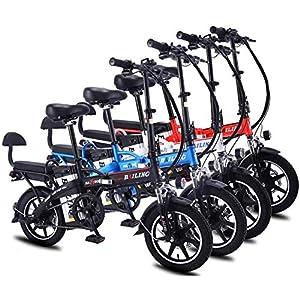 51H4S7kl9SL. SS300 Drohneks Bicicletta elettrica Pieghevole 14 Pollici Mini Cool Ciclismo 8A 10A 12A 16A 20A 22A 25A 32A E-Bike Batteria al…