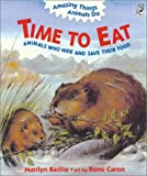Time to Eat, Marilyn Baillie, 1895688302