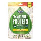 Garden of Life Organic Protein Powder - Vegan Plant-Based Protein Energy, 8.4 oz (239g) Powder