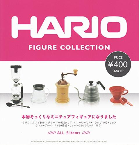 HARIO 하리오 미니어쳐 피규어 컬렉션 [전 5 종 세트 (풀 무료 초대권)
