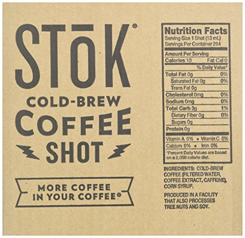 SToK Caffeinated Black Coffee Shots, 264 Single-Serving Shots, Single-Serve Shot of Unsweetened Coffee, Add to Coffee for Extra Caffeine, 40mg Caffeine (Packaging May vary) by SToK (Image #8)