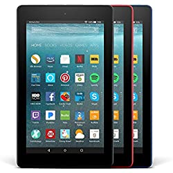 All-New Fire 7 Variety Pack, 8GB - Includes Special Offers (Black/Blue/Red)
