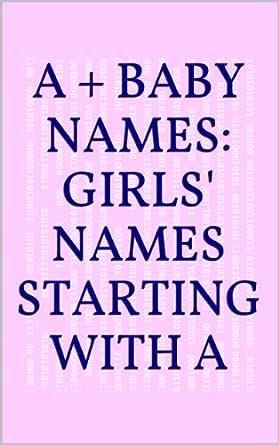 Of girls names 20000