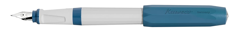 bleu//gris F Fine Kaweco Perkeo Stylo-Plume Old Chambrey