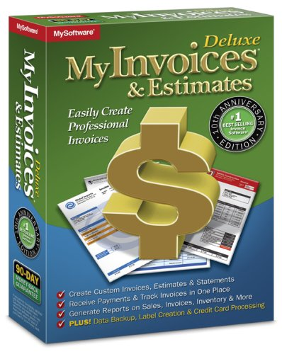 Avanquest 10061 MyInvoices Estimates Deluxe product image