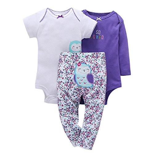 3-Piece Baby Little Character Set-Owl