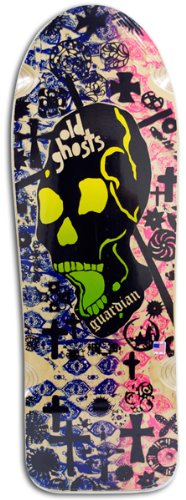 (Vision Old Ghost Guardian Reissue Skateboard Deck, Natural, 10 x 31.75-Inch )