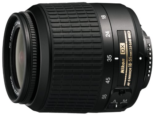 Nikon 18-55mm f/3.5-5.6G ED Auto Focus-S DX Non-VR Nikkor Zoom Lens (Discontinued by Manufacturer)