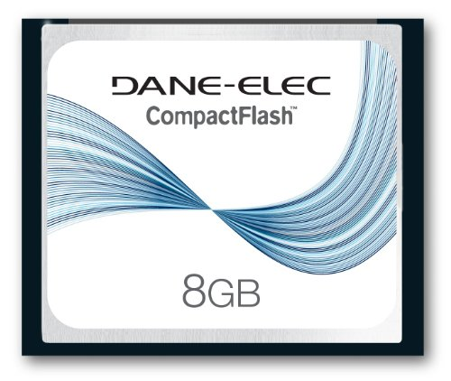 Dane-Elec 8 GB CompactFlash Memory Card DA-CF-8192-R