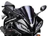 Puig 4935S Black Racing Screen With Graphics