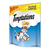 TEMPTATIONS Treats for Cats Hairball Control Chicken Flavor 4.9 Ounce (Pack of10) - With Our Mouthwatering Menu We Have a Flavor For Every Feline