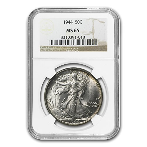 1944 Walking Liberty Half Dollar MS-65 NGC Half Dollar MS-65 NGC