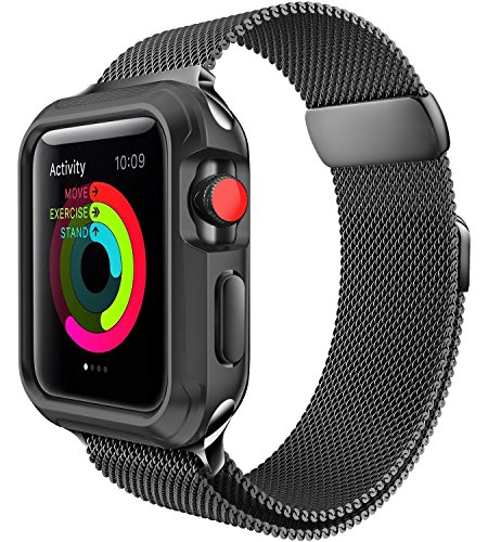 For Apple Watch Band 42mm, Milanese Loop for iWatch Bands 42mm Series 3 2 1