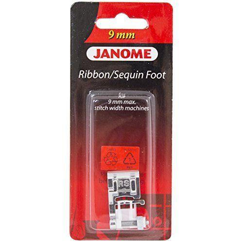 Janome Ribbon & Sequin Foot For 9mm (Sequins Ribbon Foot)