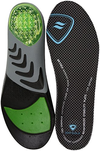 Sof Sole Women's Airr Orthotic Full Length Performance Shoe Insoles, Women's (Sof Sole Stability Insole)