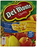 Del Monte Peach and Fruit Salad Club Pack of 16