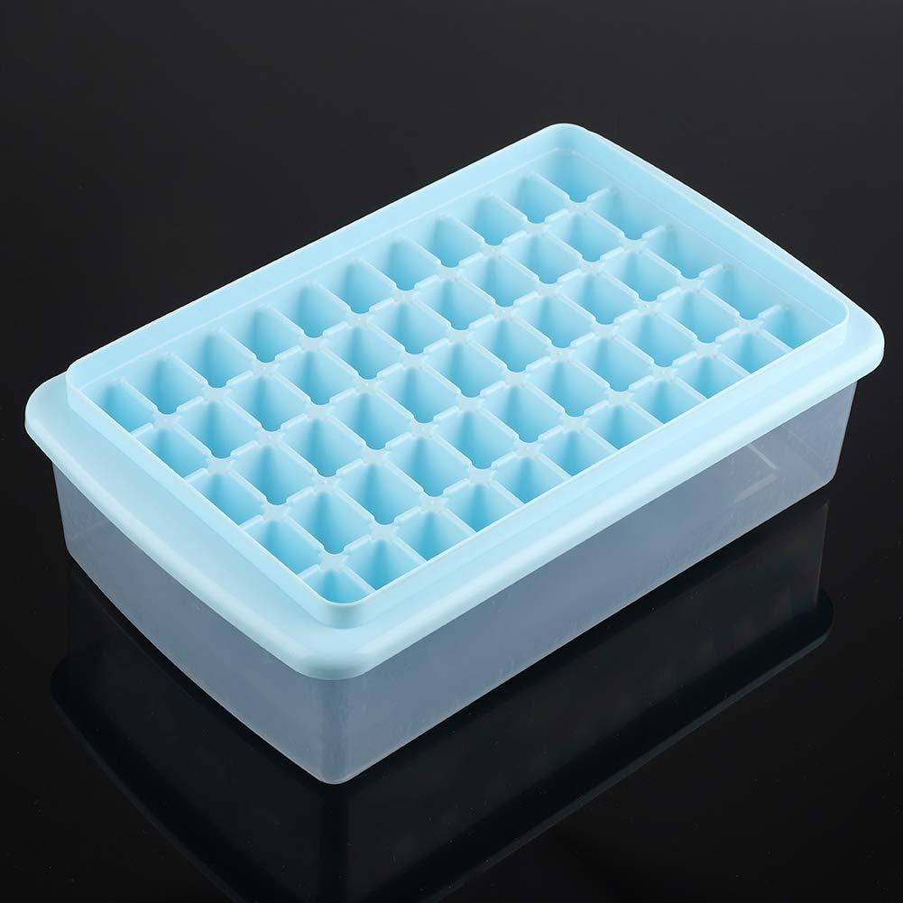 Jadpes55-Cavidad Cuadrado Ice Cube Mould Tray Pudding DIY Maker molde herramienta de cocina con caja pala Ice Cube Maker