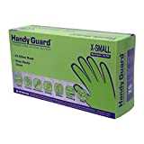 Adenna Handy Guard 5 mil Nitrile Powder Free Gloves (Blue, X-Small)