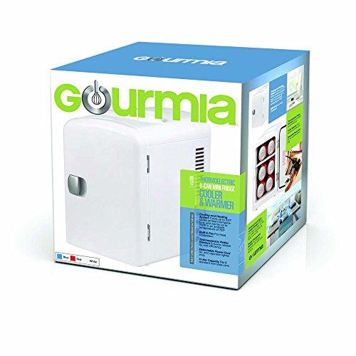 Gourmia Gmf600 Portable 6 Can Mini Fridge Cooler And