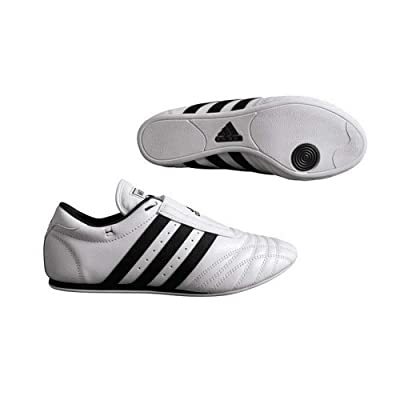 Adidas Indoor Training Leather Sports Sm II Shoes - White: Sports & Outdoors