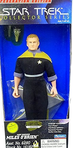 Collector Star Series Trek (Star Trek Collector Series Chief Miles O'Brien 9