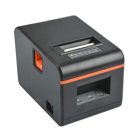 Amazon.com: Impresora de recibos térmicos con cortador ...