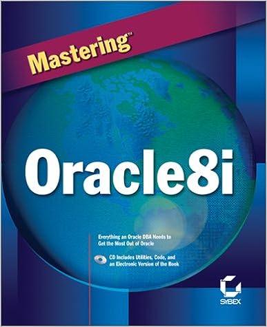 Mastering Oracle8i - Database Error Library