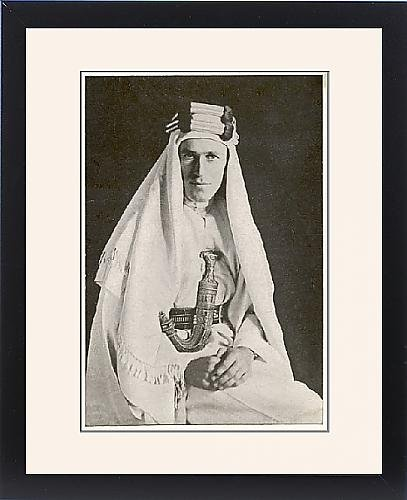Framed Print Of Lawrence Of Arabia by Prints Prints Prints